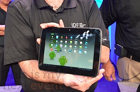 Android Tablet s Chipom od Intelu